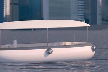 HK designer unveils small electric commuter craft concept