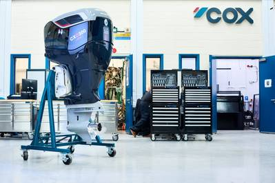 Cox Powertrain Announces Production of UK Designed And Manufactured Ground-breaking Marine Engine Following £92m Investment Into British Engineering Business