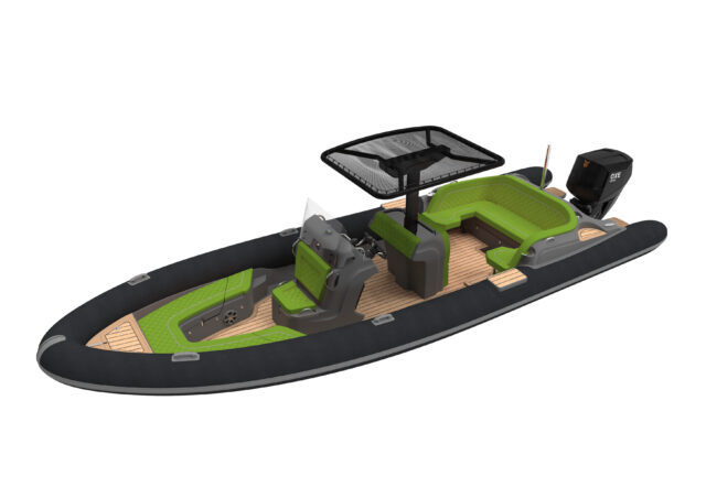 Ribeye leads UK boatbuilders in ordering new OXE300 for Superyacht tenders from Proteum