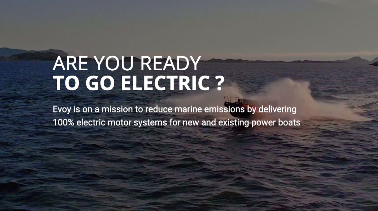 Exciting News for Electric Boats from Evoy Outboards