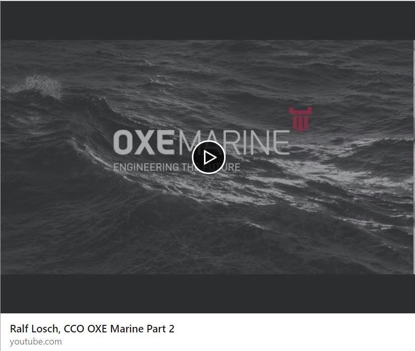 Ralf Losch, CCO OXE Marine Part 2
