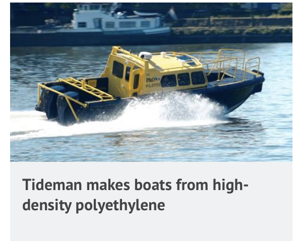 """For Tideman, delivery of two workboats is a """"tonic"""" in a bad year"""