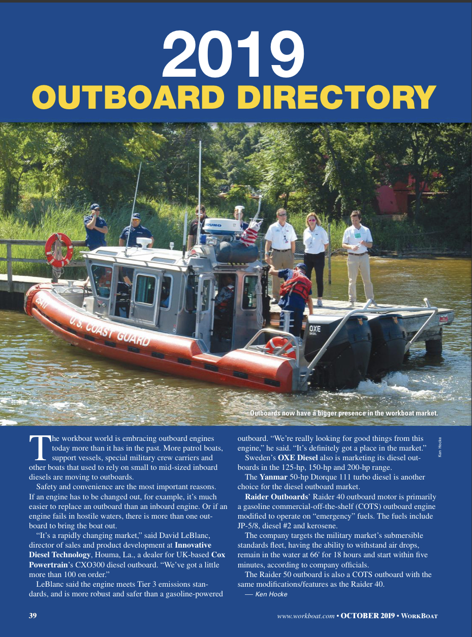 2019 Outboard Directory