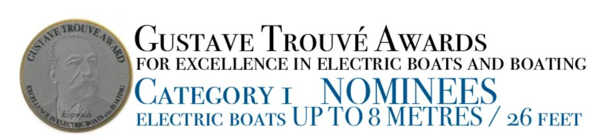 Electric Boats awards (up to 8 Meters)