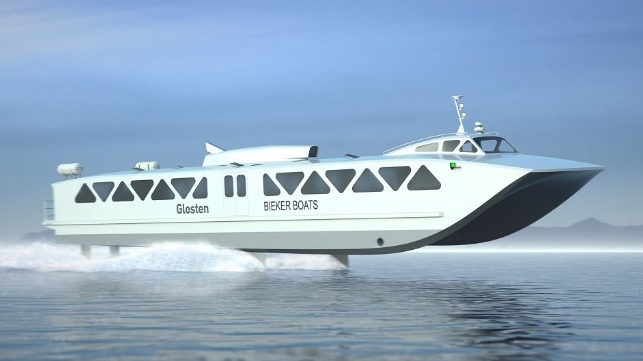 Washington Secures Federal Grant for Electric Hydrofoil Ferry Design