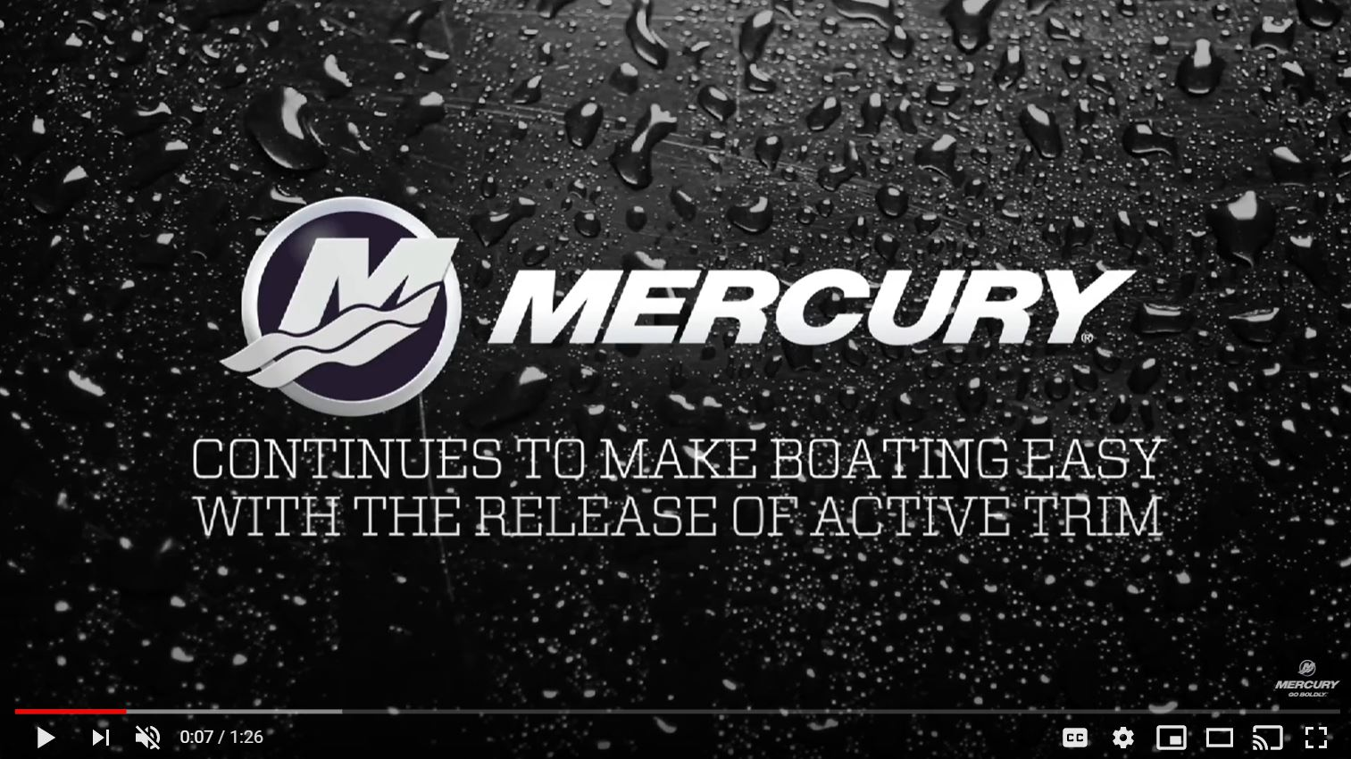 Mercury Marine's Active Trim is making boating easier and safer