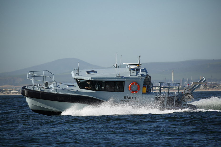 Paramount Maritime launches survey motor boat for SA Navy