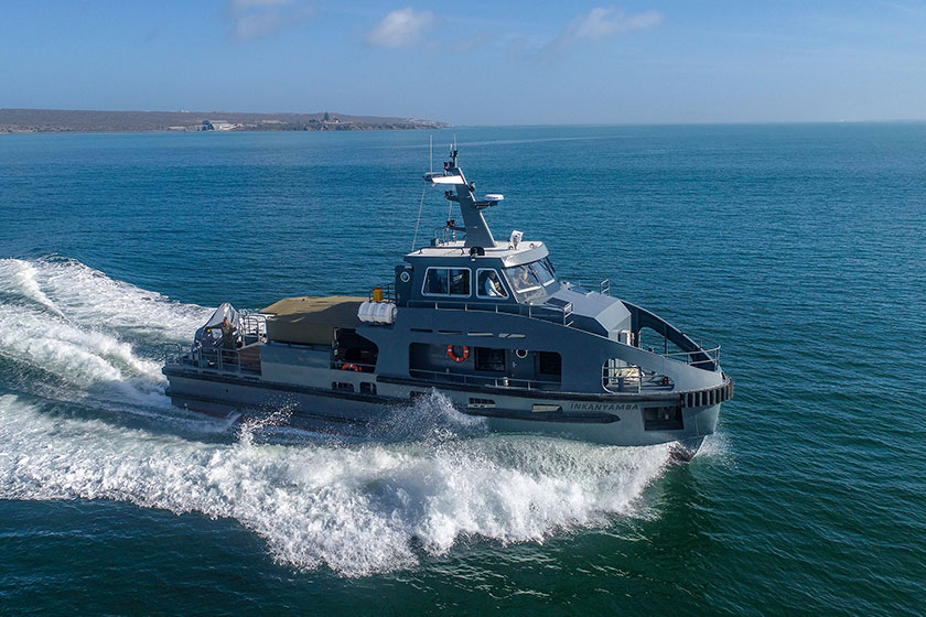 Incat Crowther Design Delivered for South African Special Forces