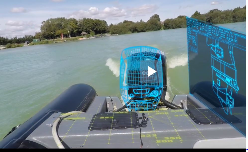 Digitalization powers high performance outboard propulsion