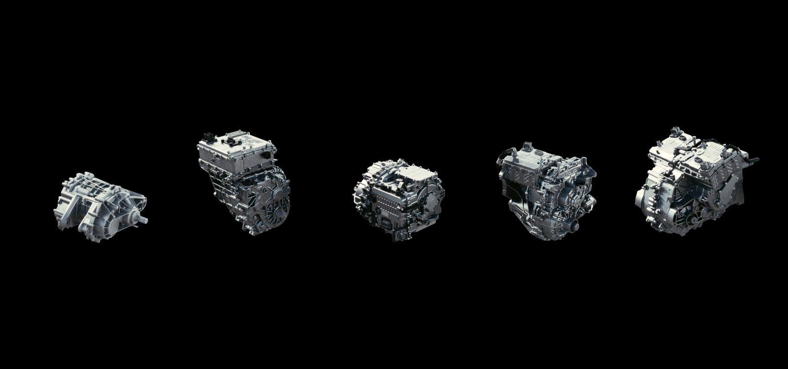 GM unveils its lineup of Ultium electric drive units