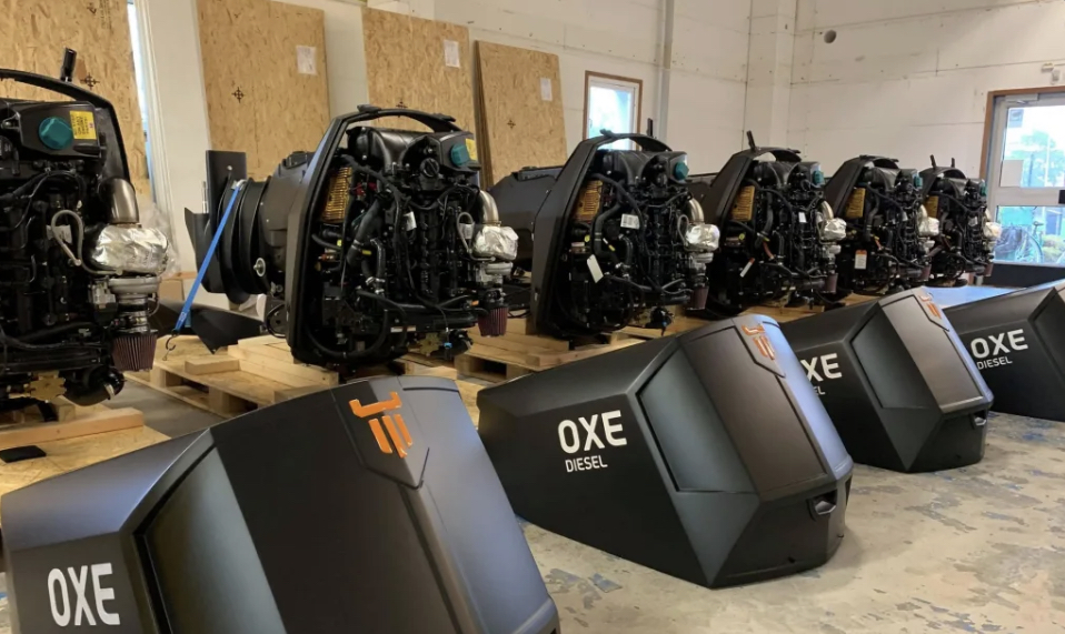 A batch OXE200 leaves our facility in Ängelholm after CCS certification