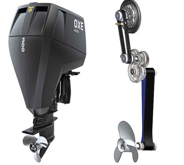 OXE Diesel Outboards A diesel alternative for outboard boaters