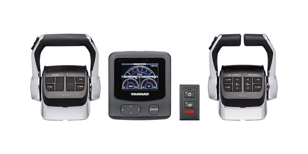 YANMAR Introduces New VC20 Vessel Control System