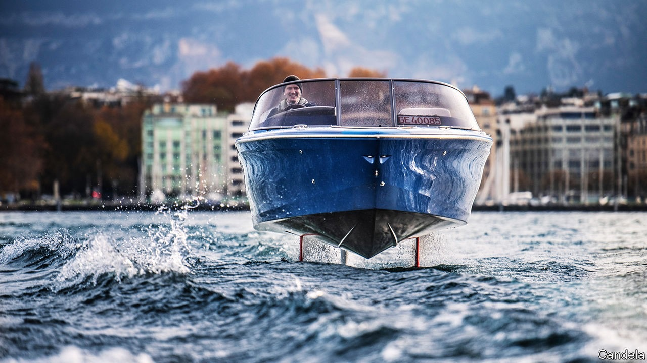 A new generation of electric motorboats take to the water