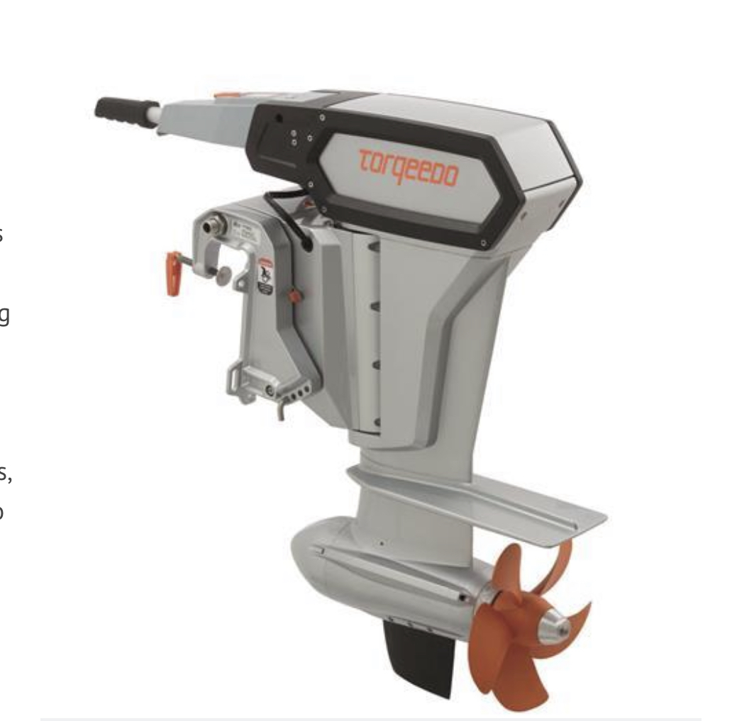 Top trends in electric outboards