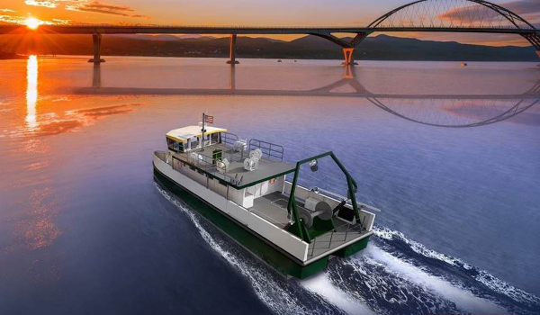 BAE's hybrid power system for Vermont research vessel