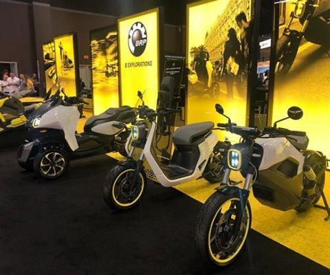 BRP unveils e-concept for PWCs and other products