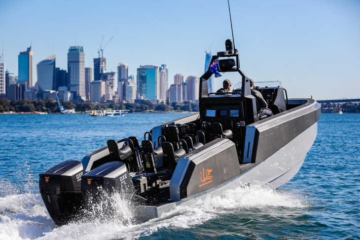 WHISKEY ALPHA 85 & OXE DIESEL OUTBOARD