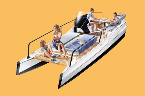 Frauscher unveils new electric boat
