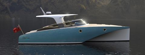 Optima Projects develops new electric boat range
