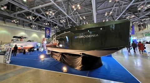 South Korea's first commercial hydrogen boat unveiled