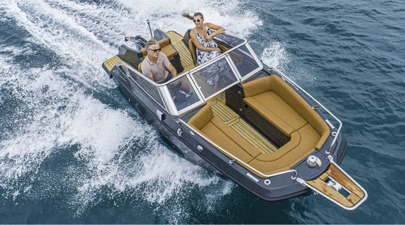 Magonis Wave e-550 – electric boat style at any speed