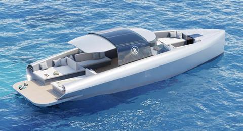 Hynova unveils hydrogen-powered production boat