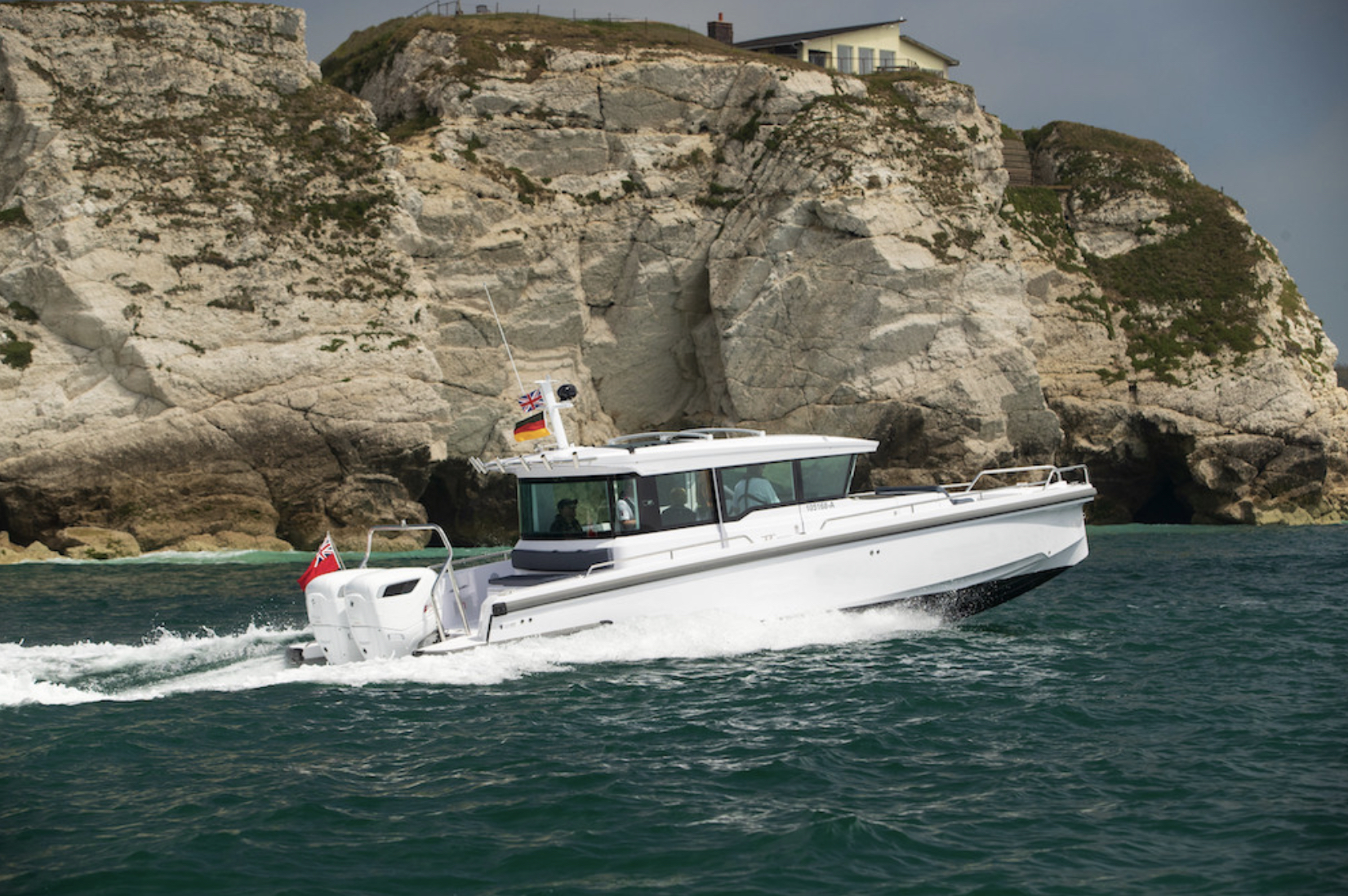 Cox Marine partners with Axopar and Ribco at Monaco Yacht Show to demonstrate the benefits of Cox's diesel outboards